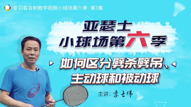 李老答疑:劈杀劈吊有何不同?如何提升吊球质量?