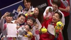 国羽夺得混双、女双冠军,印尼提前包揽男双冠亚军