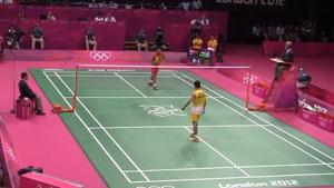 【低视角】2012伦敦奥运决赛,林丹vs李宗伟