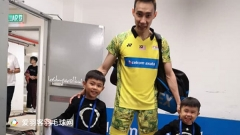 李宗伟发文庆祝大马独立日,晒自己和孩子合影照