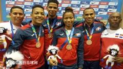 有梦想的不仅是林李,多米尼加羽球选手盼参加奥运