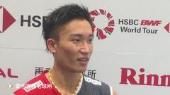 桃田贤斗:经常分析林丹比赛,他是我心中永远的英雄