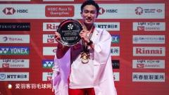 桃田贤斗禁赛前曾戴价值45万元手表,如今仅戴1800元卡西欧