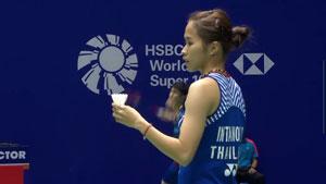 张蓓雯VS因达农 2018中国公开赛 女单1/16决赛视频