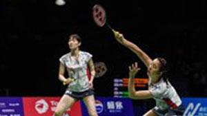 松本麻佑/永原和可那VS加夫列拉/斯托伊娃 2018中国公开赛 女双半决赛视频