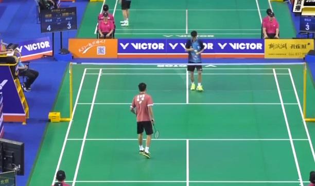 庞钰才VS吴松健 2018全国团体锦标赛 男单小组赛视频